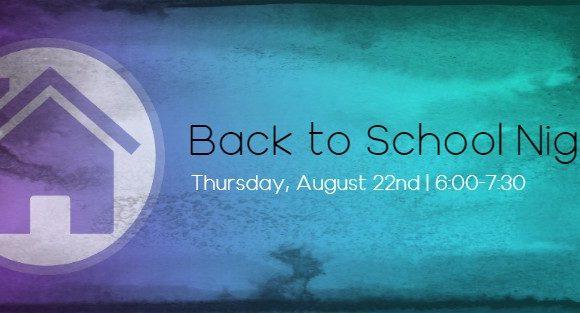 Back to School Night Banner